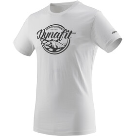 Dynafit Graphic Cotton Camiseta manga corta Hombre, blanco